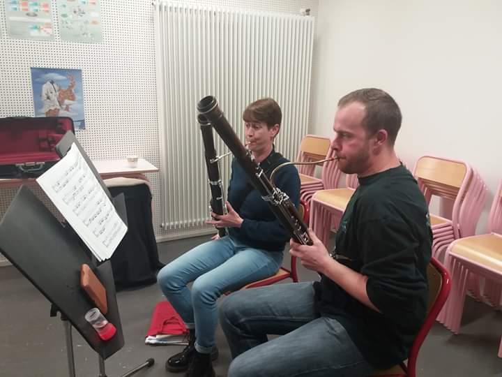 En cours de basson